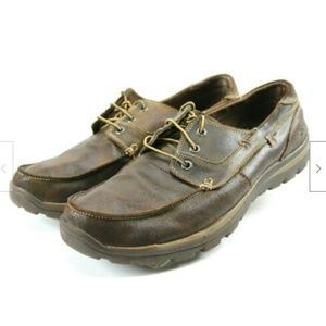 Skechers Men's Casual Shoes Size 13 Leather Brown
